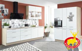 Einbauküche Speed in alpinweiß, Junker Geschirrspüler JS04VN94