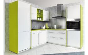 Einbauküche Flash in weiß, Junker Geschirrspüler