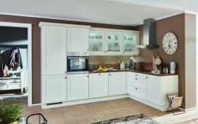 Einbauküche Chalet in Magnolia matt, Miele Backofen H22661B