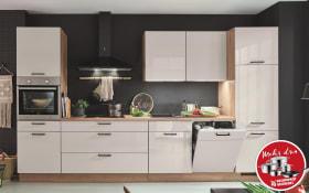 Einbauküche Flash in seidengrau, Progress Geschirrspüler PV1546
