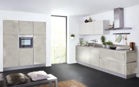 Einbauküche Stone in grau