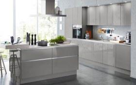 Einbauküche Nova in grau