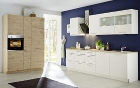 Einbauküche Corona in weiß Hochglanz, Siemens-Geschirrspüler
