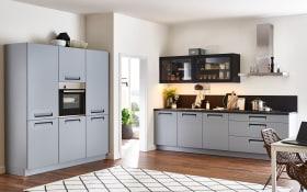 Einbauküche Integra in papyrusgrau, Siemens-Geschirrspüler
