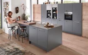 Einbauküche Integra in quarzgrau, Neff-Geschirrspüler