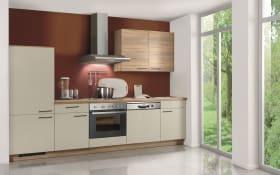 Einbauküche Win 039 in hellgrau, Ignis Geschirrspüler GBE-1B19-X