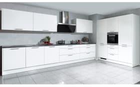 Marken-Einbauküche Faro in weiß, Ignis-Geschirrspüler