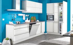 Einbauküche Stratos in weiß