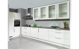 Einbauküche Laser Brilliant in weiß, Neff Geschirrspüler