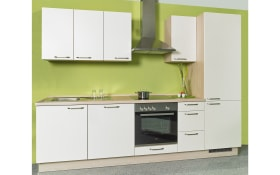 Einbauküche Uno in magnolie, Siemens-Geschirrspüler