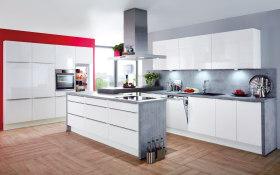 Einbauküche Lumos in weiß