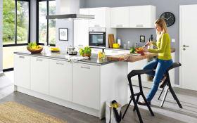 Einbauküche Integrale in weiß