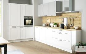 Einbauküche Lotus in weiß, AEG-Geschirrspüler