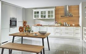 Einbauküche Malaga in weiß, Blaupunkt-Geschirrspüler 5VF410NP