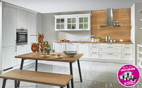 Einbauküche Malaga in weiß, Blaupunkt-Geschirrspüler 5VF402NP