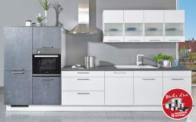 Einbauküche Uno in weiß
