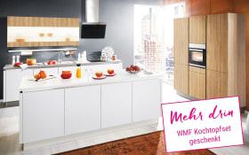 Einbauküche Loft in weiß, Miele-Geschirrspüler