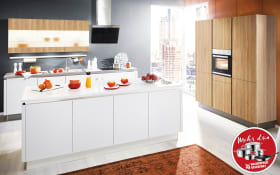 Einbauküche Loft in weiß, Blaupunkt Geschirrspüler 5VF410NP