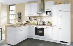 Einbauküche IP1200 in weiß, AEG-Geschirrspüler