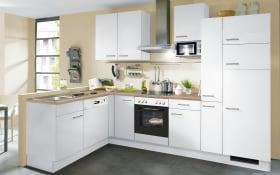 Einbauküche IP1200 in weiß, Siemens-Geschirrspüler