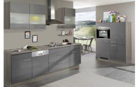 Einbauküche IP4000 in anthrazitgrau, AEG-Geschirrspüler