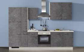 Einbauküche IP3500 in Felsgrau, AEG-Geschirrspüler