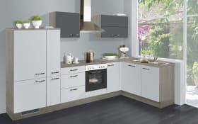 Einbauküche IP4050 in weiß Hochglanz
