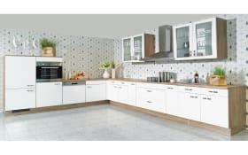Einbauküche IP 4050 in Hochglanz weiß, Neff-Geschirrspüler