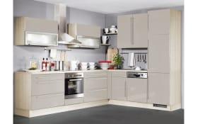 Einbauküche IP4000, champagner, inklusive Elektrogeräte
