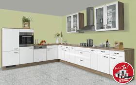 Einbauküche IP 4050 in Hochglanz weiß, Ignis Geschirrspüler