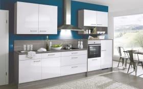 Einbauküche 742 in weiß