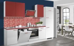 Einbauküche 715 in weiß