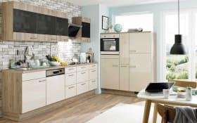 Marken-Einbauküche 742 PN 270 in Hochglanz kashmir