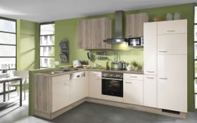 Einbauküche 742 in magnolie weiß