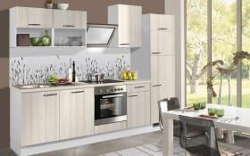 Einbauküche PN 100 in Pinie-Optik, Siemens-Geschirrspüler