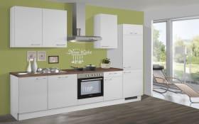 Einbauküche 715 PN80 in weiß, Altus Geschirrspüler SVN1402