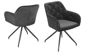 Armlehnen-Stuhl Fremont S0 in anthrazit