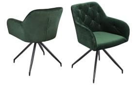 Armlehnen-Stuhl Fremont S0 in grün