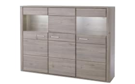 Highboard Ravenna in Eiche Optik