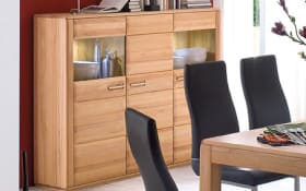 Highboard Sena Kernbuche