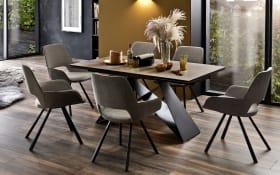 Stuhlgruppe Parana/Kobe in Holz-Optik/melange