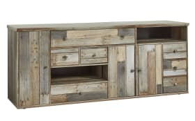 Sideboard Bonanza in Driftwood-Optik