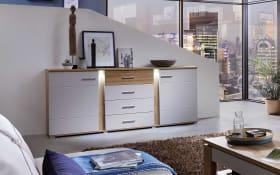 Sideboard Spurt in beige/braun