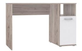 Schreibtisch Niko in Sandeiche-Optik/weiß
