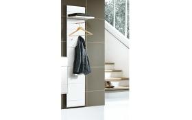 Garderobenpaneel Slate in weiß