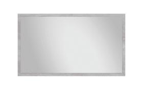 Spiegel Duro in Pinie-Optik weiß, 120 x 70 cm