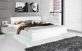 Bettanlage Starlet Plus in weiß/Abs. weiß Hochglanz