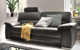 Sofa 2-Sitzer TS 107 in schwarz