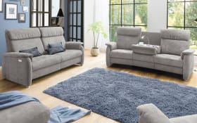 Trapezsofa TS 215 in anthrazit