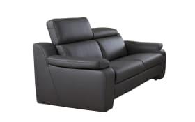 2,5-Sitzer für Leder-Wohnlandschaft 1302 in braun